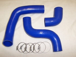 SPLR768 FREELANDER 1 TD4 INTERCOOLER HOSE KIT BLUE SILICONE