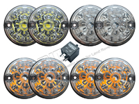DA1191 DEFENDER 90 110 CLEAR LED LIGHT KIT
