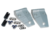 DA1152 DEFENDER BONNET HINGE KIT IN ALUMINIUM